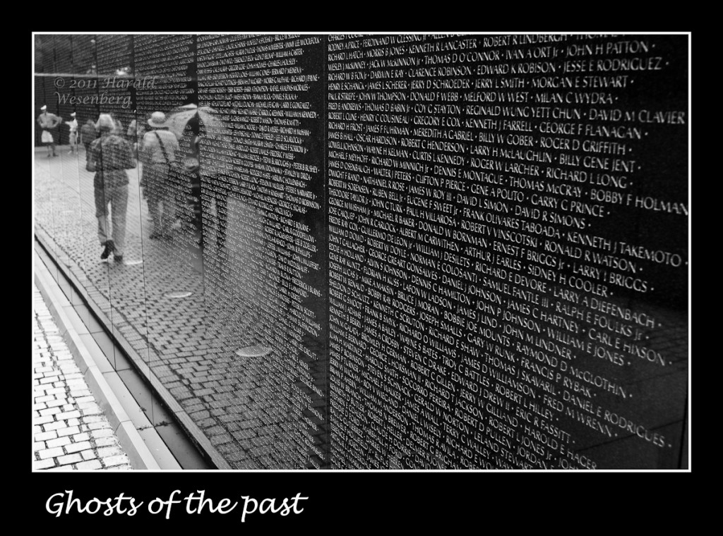 The Vietnam Memorial Wall