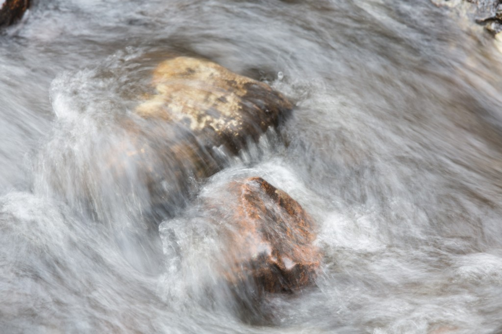 An early capture of flowing water...