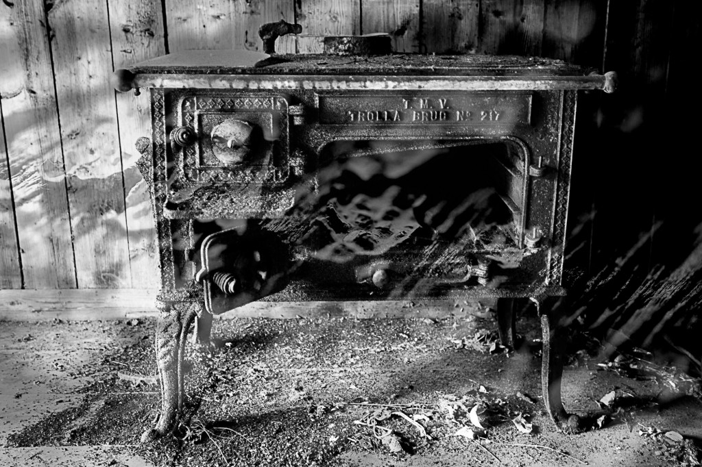 Abandoned stove